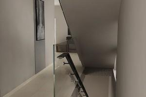 szklana balustrada 80