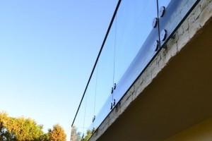szklana balustrada 95