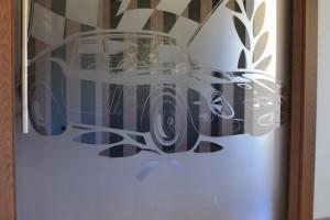 szklane drzwi sciany 90