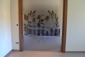 szklane drzwi sciany 91
